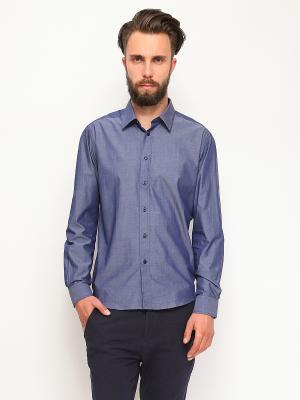 Рубашка Top Secret. Цвет: темно-синий