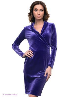 Платье Lussotico. Цвет: фиолетовый