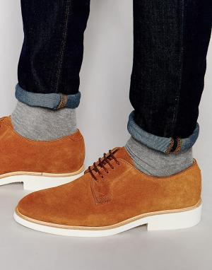 Sebago Туфли на шнуровке Machall. Цвет: бежевый
