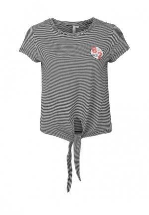 Футболка Q/S designed by. Цвет: серый