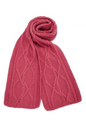Шарф из шерсти с шелком 138734 Sweet Sweaters. Цвет: красный