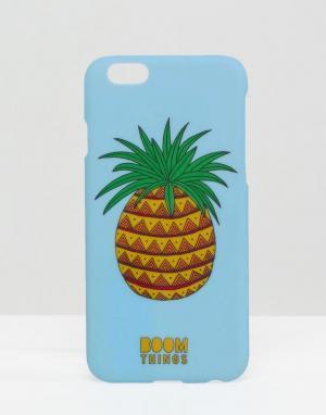 Boom Things Чехол для iPhone 6/6S Pineapple. Цвет: мульти