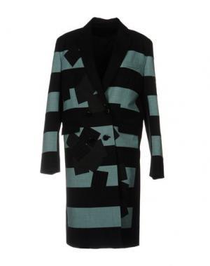 Легкое пальто JONATHAN SAUNDERS. Цвет: небесно-голубой