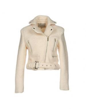 Куртка BLAZE. Цвет: слоновая кость