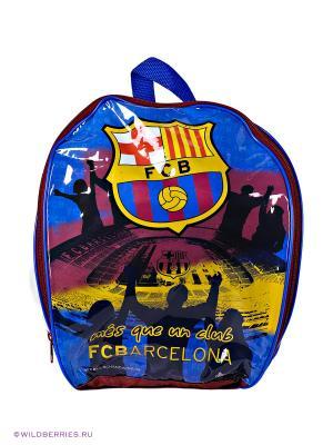 Песочный набор в рюкзаке Барселона с мячом Unice. Цвет: синий, красный