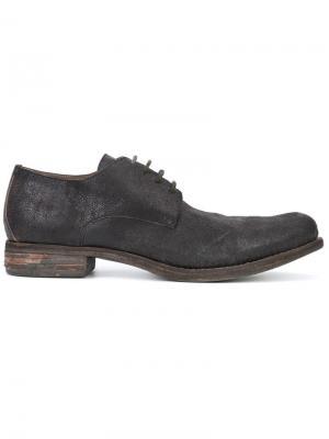 Классические туфли Дерби A Diciannoveventitre. Цвет: коричневый