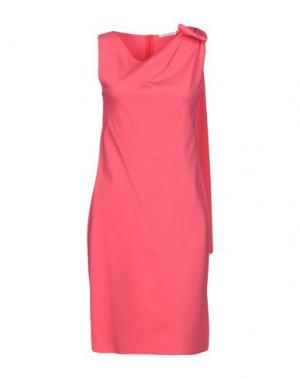 Короткое платье CARLA G.. Цвет: фуксия