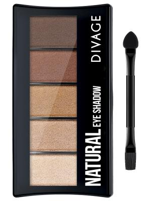 Divage Палетка Теней Для Век Palettes Eye Shadow - Natural. Цвет: светло-коричневый