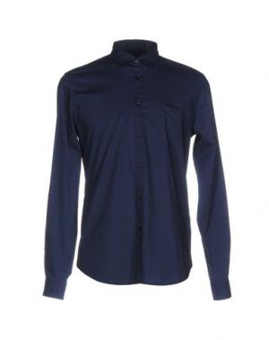 Pубашка INDIVIDUAL. Цвет: темно-синий