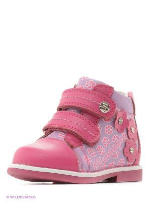 Ботинки Flamingo. Цвет: малиновый, сиреневый