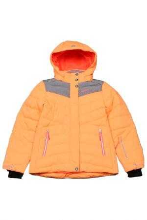 Куртка Icepeak. Цвет: оранжевый
