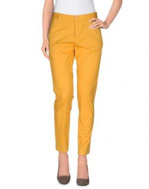 Повседневные брюки FAIRLY. Цвет: охра