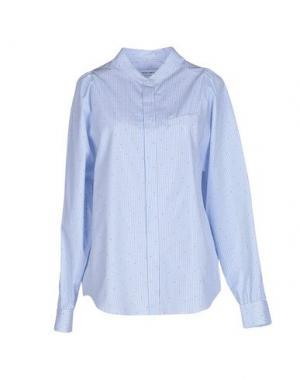 Pубашка MAURO GRIFONI. Цвет: лазурный