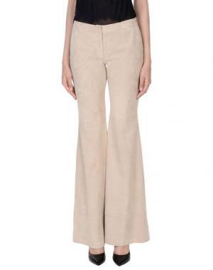 Повседневные брюки ALEXIS. Цвет: бежевый
