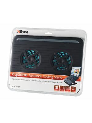 Подставка для ноутбука Trust 17866 Cyclone Notebook Cooling Stand. Цвет: черный