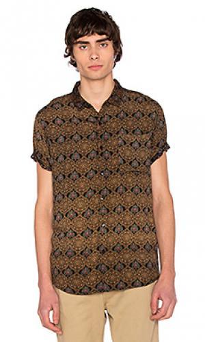 Рубашка dark sun ROLLAS ROLLA'S. Цвет: коричневый