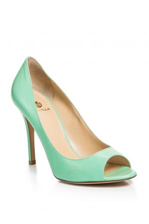 Туфли AF-186374 Semilla. Цвет: зеленый