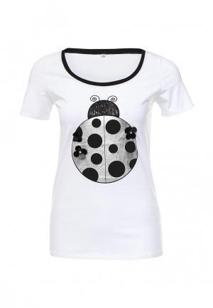 Футболка B.Style. Цвет: белый