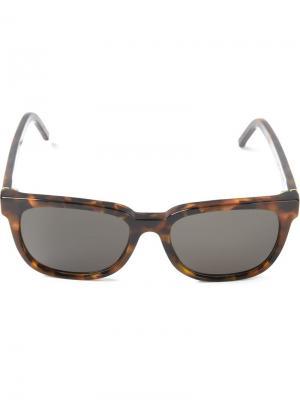Солнцезащитные очки People Havana Retrosuperfuture. Цвет: коричневый