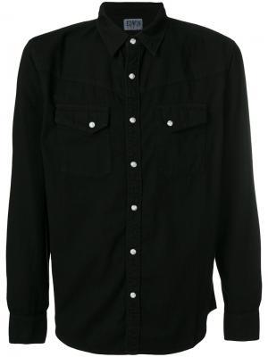 Western style shirt Edwin. Цвет: чёрный