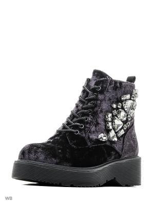 Ботинки Rio Fiore. Цвет: фиолетовый