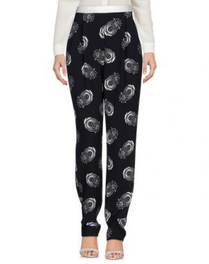 Повседневные брюки CATERINA GATTA. Цвет: темно-синий