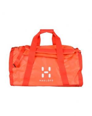 Дорожная сумка HAGLÖFS. Цвет: оранжевый