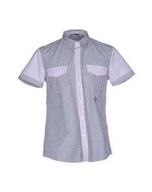 Pубашка RA-RE. Цвет: темно-синий