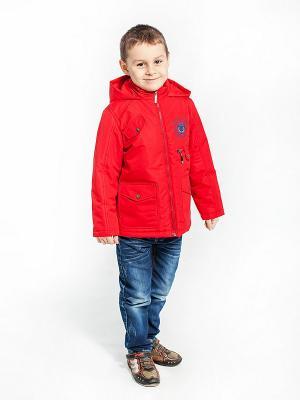 Куртка Гоша Аксарт. Цвет: красный