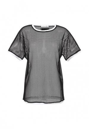 Блуза Twin-Set Simona Barbieri. Цвет: черный