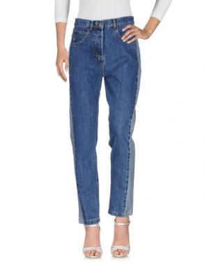 Джинсовые брюки PAUL & JOE. Цвет: синий