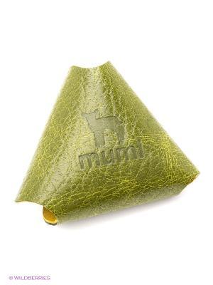 Футляр для наушников Dimanche. Цвет: зеленый