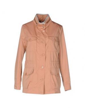 Куртка MABRUN. Цвет: лососево-розовый