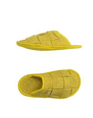 Домашние туфли RENUDO. Цвет: желтый