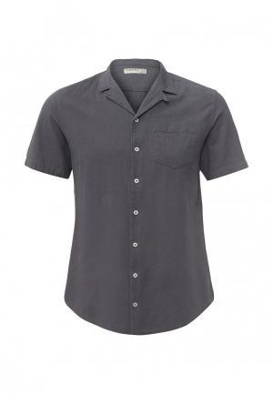 Рубашка Piazza Italia. Цвет: серый