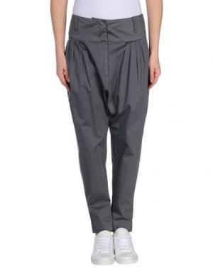 Повседневные брюки DONDUP. Цвет: свинцово-серый