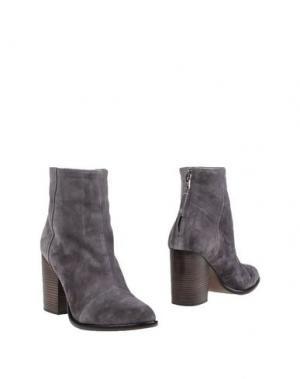 Полусапоги и высокие ботинки RAG & BONE. Цвет: свинцово-серый