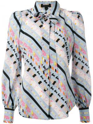 Рубашка с цветочным узором Marc Jacobs. Цвет: многоцветный