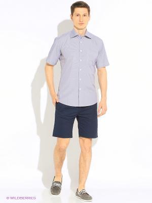 Рубашка Hans Grubber. Цвет: серый