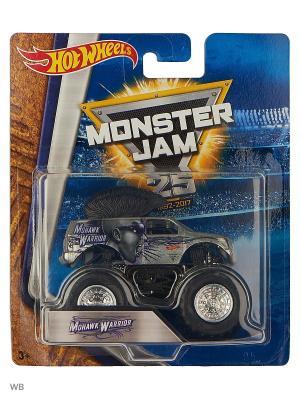 Машинки серии Monster Jam Hot Wheels. Цвет: серый, темно-серый