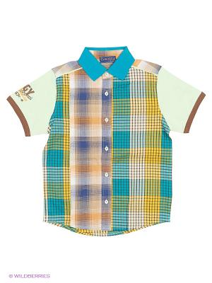 Рубашка Evita Baby. Цвет: салатовый
