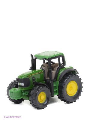 Игрушечный трактор Джон Дир SIKU. Цвет: зеленый, черный