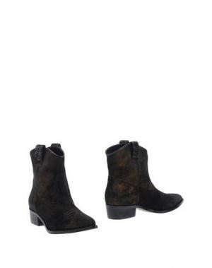 Полусапоги и высокие ботинки GUIDO SGARIGLIA. Цвет: черный