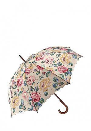 Зонт-трость Fulton. Цвет: бежевый