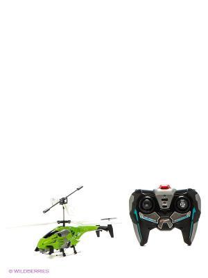 Вертолет YW858164 на ИК управлении с гироскопом AULDEY. Цвет: зеленый, черный