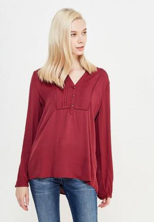 Блуза s.Oliver. Цвет: бордовый