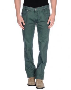 Повседневные брюки BROOKSFIELD. Цвет: изумрудно-зеленый