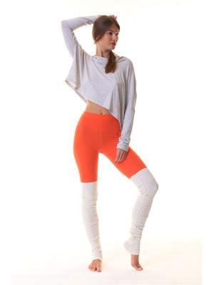 Леггинсы Sport Vision. Цвет: светло-оранжевый