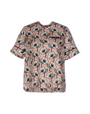 Блузка ORLA KIELY. Цвет: розовый