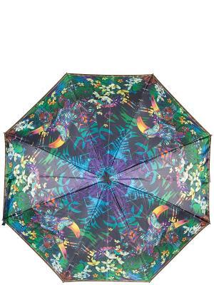Зонт Eleganzza. Цвет: зеленый, голубой, желтый
